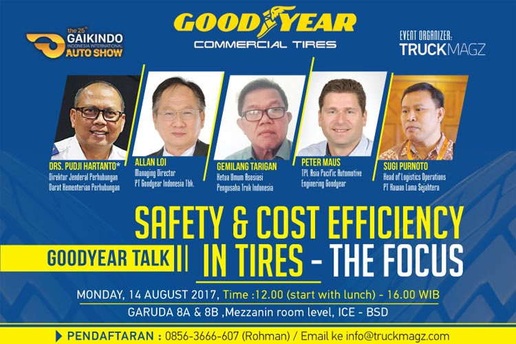 Good year talk - Safety & Cost Efficiency in tires